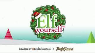 Elf Yourself music dance video