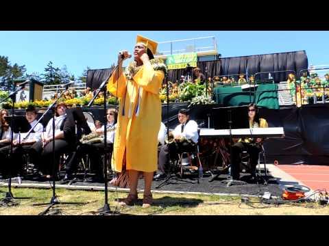 Capuchino High School Graduation  Tupou Latukefu