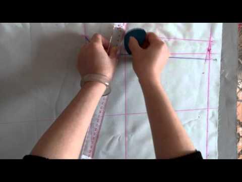 Cách cắt và may quần ngố (quần đùi) nam 1 ly (phần 1)