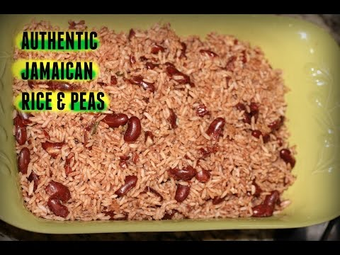 AUTHENTIC JAMAICAN RICE AND PEAS RECIPE | The Jamaican Mother