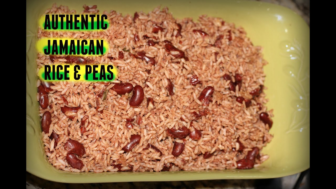 Authentic Jamaican Rice and Peas Recipe | The Jamaican Mother ...