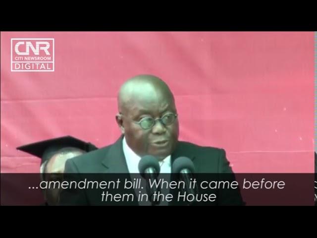Akufo-Addo slams minority for opposing Ghana card registration