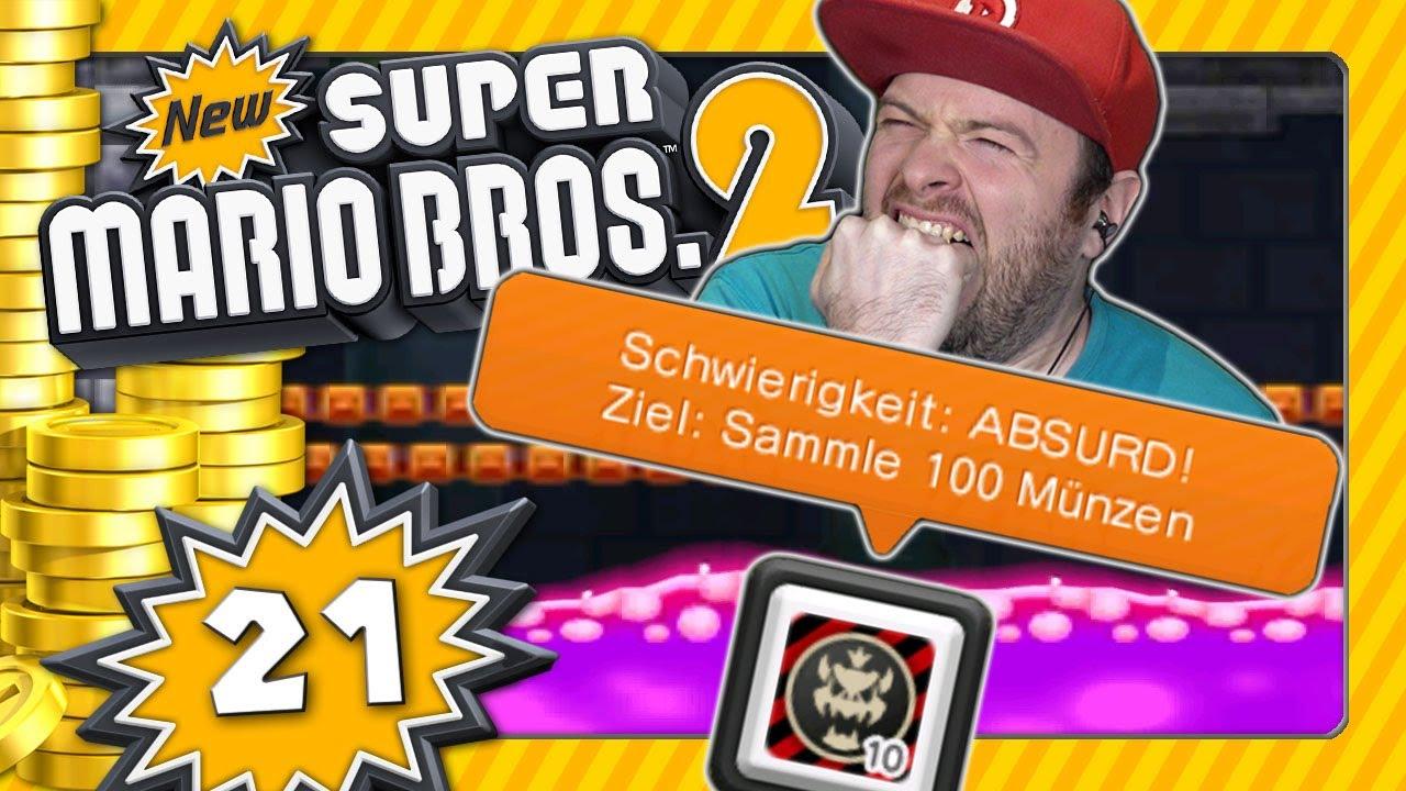 NEW SUPER MARIO BROS. 2 💰 #21: Münzrausch-DLCs - Knifflige Krise & Hals- und Beinbruch [ENDE]
