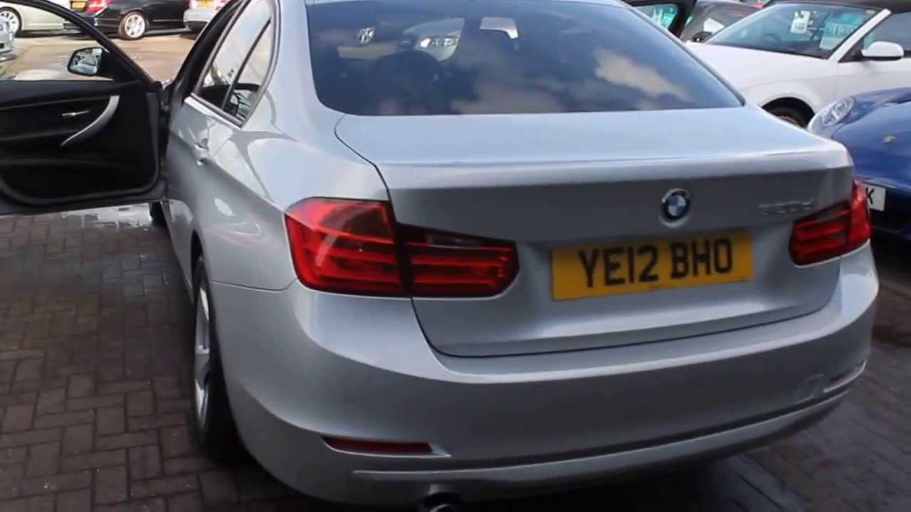 Bmw 320d Efficiency Dynamics Finished In Glacier Silver At