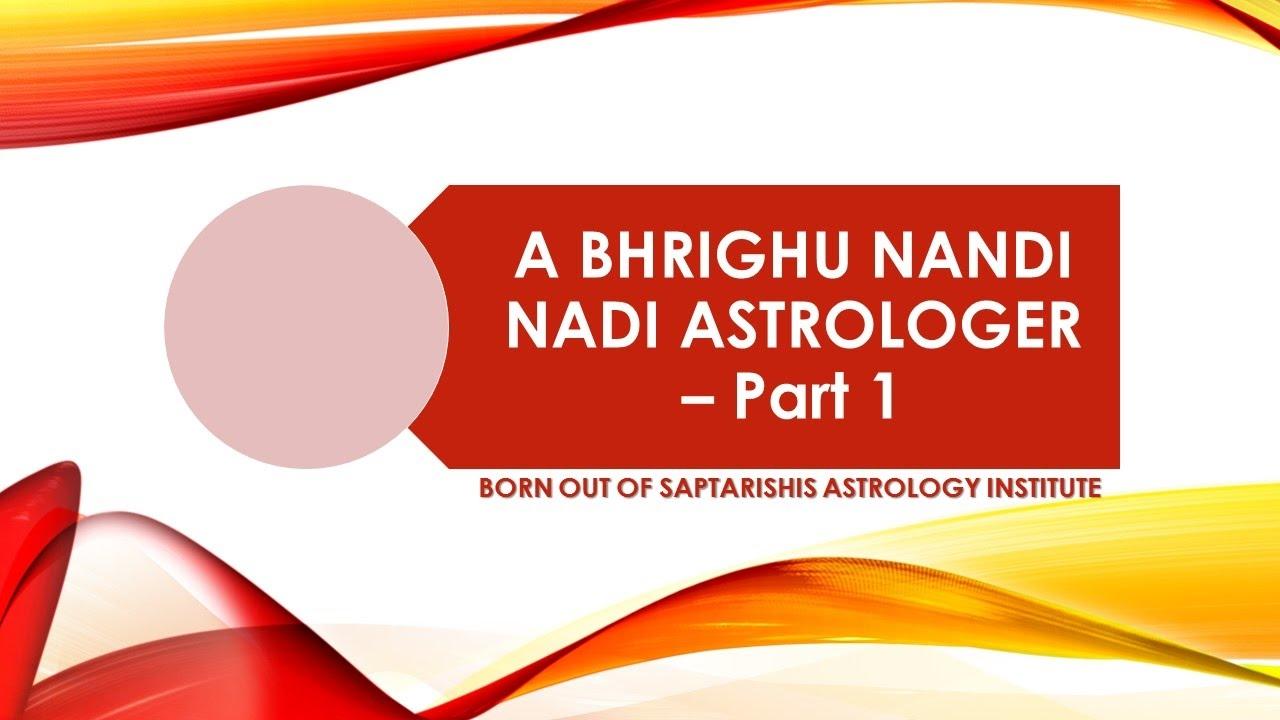 A Bhrighu Nandi Nadi Astrologer Part 1 [Hindi + English]