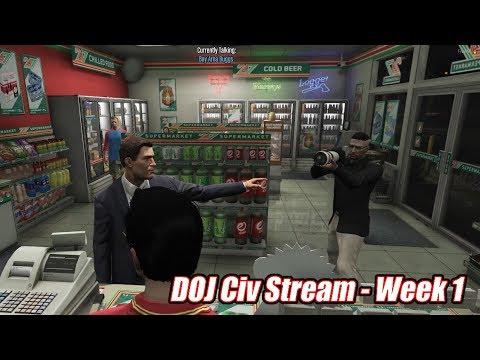GTA5 RP   DOJ Civ Stream Comp. - Wk #1