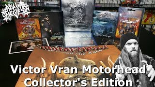 A Motorhead Video Game?! Victor Vran Motorhead Collector's Edition Unboxing - AlphaOmegaSin
