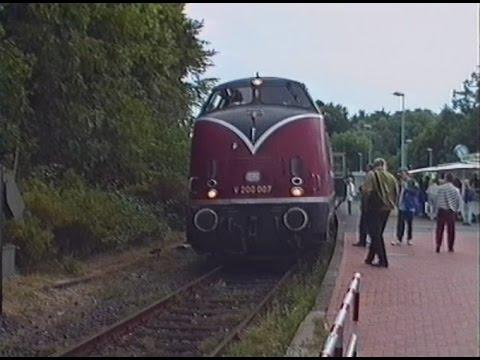 Führerstandsmitfahrt Lütjenburg Malente-Gremsmühlen 17.07.1993