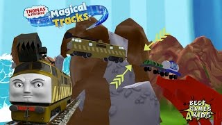 BUG - DIESEL 10 with a Ghost Wagon | Thomas & Friends: Magical Tracks - Kids Train Set #20 By Budge thumbnail