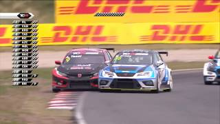 TCR Benelux & Europe & Swiss Trophy 2018. Race 2 Circuit Park Zandvoort. Final Lap