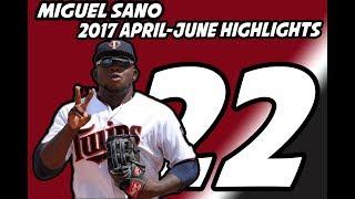 Miguel Sano 2017 Highlights| April-June