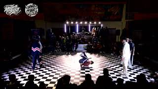 Wirująca Strefa 2018 / Finał Bboying 3vs3 / Avalanche Get Down vs  Narek, Bura-Deny, Arczek