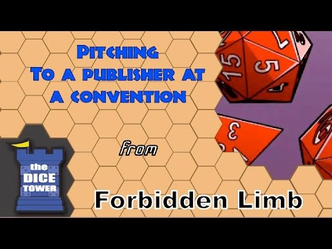 Forbidden Limb (Ep. 27) - Pitching to a Publisher at a Convention
