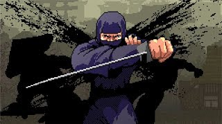 Pixel Shinobi: Nine Demons of Mamoru - All Bosses [No Damage/Sword Only]