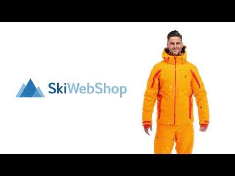 Spyder, Copper GTX, Ski Jacket, Men, Flare Orange