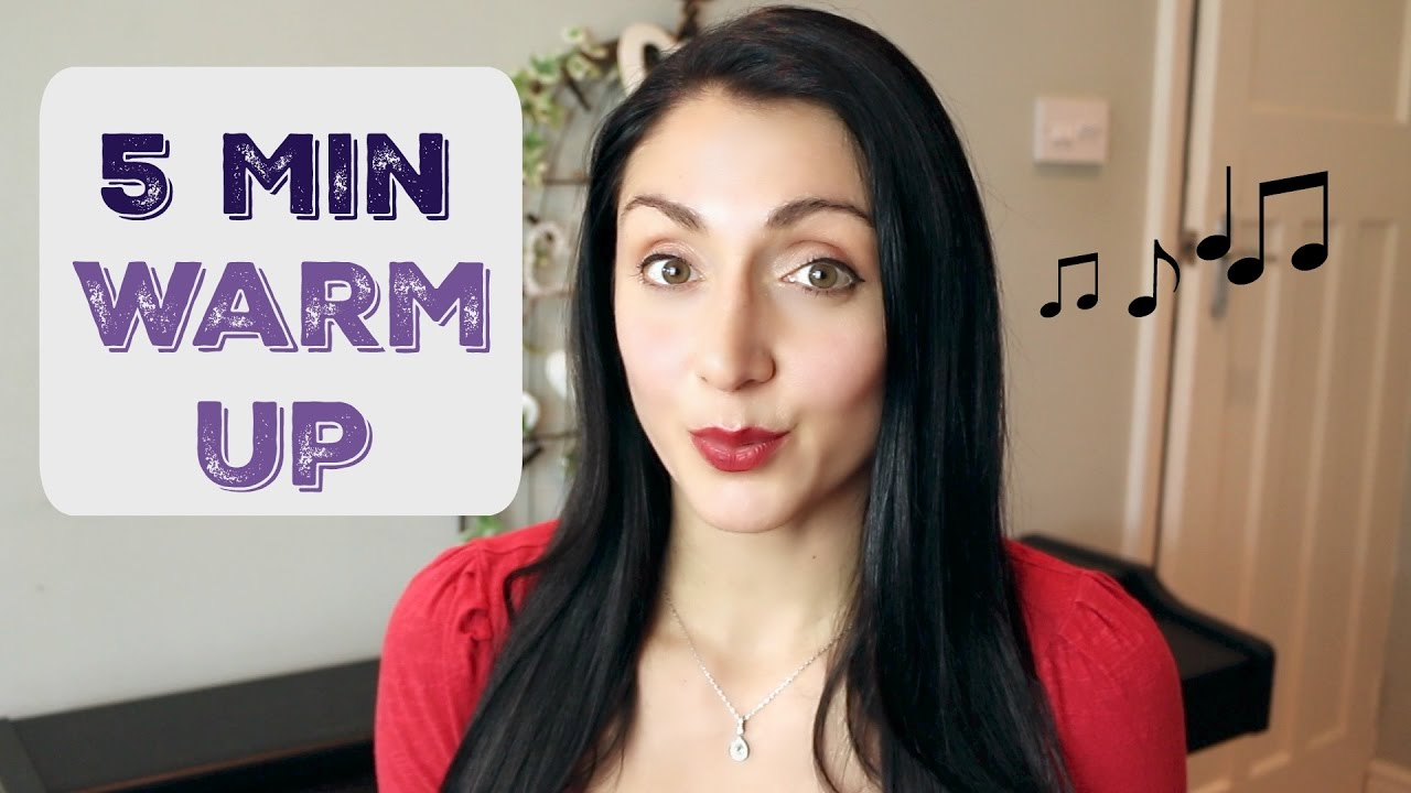 Quick 5 Minute SINGING Warm Up - YouTube