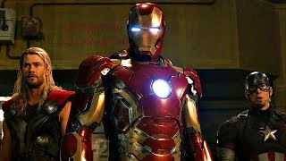 Avengers vs Ultron Fight Scene - Avengers: Age of Ultron - Movie CLIP HD thumbnail