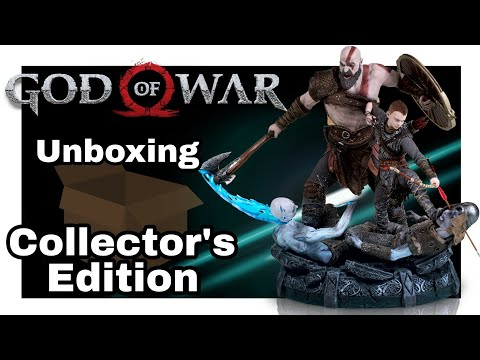 Unboxing God of War Collector's Edition and Axe Replica
