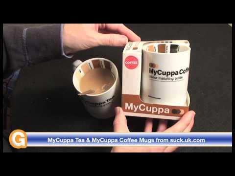 MyCuppa Tea & MyCuppa Coffee Mugs from Suck UK