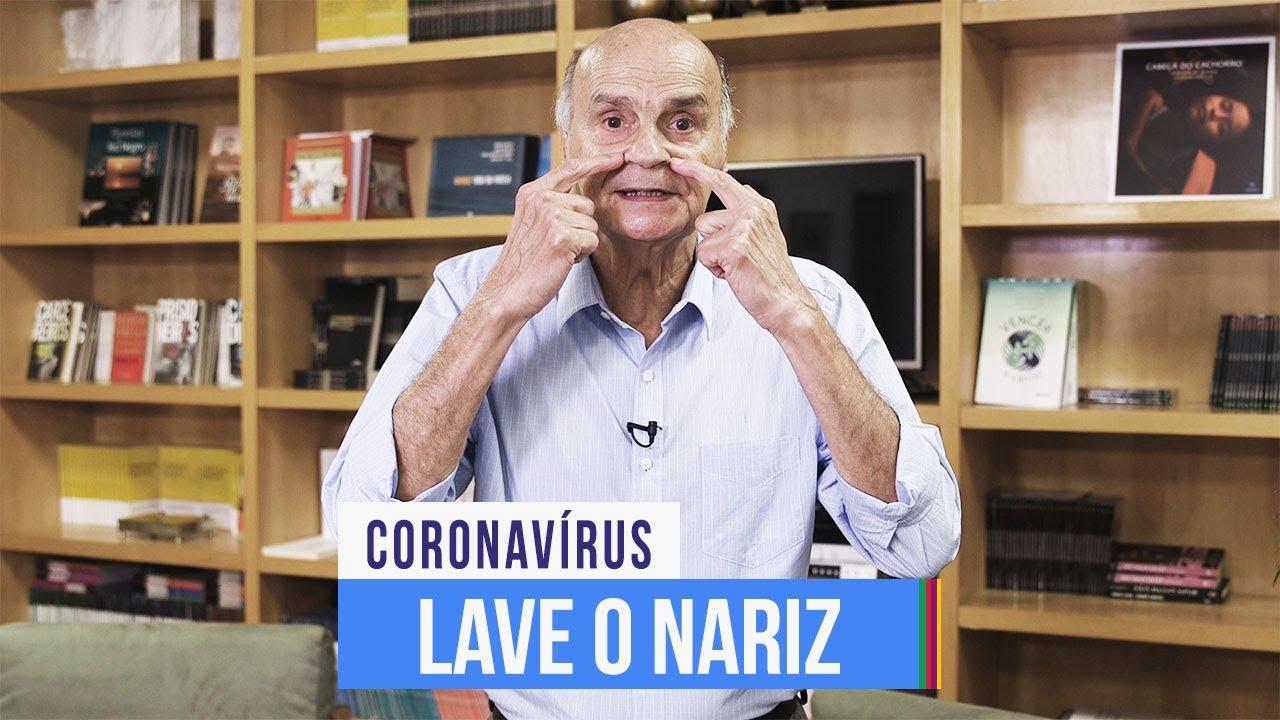 Download Como lavar o nariz?   Coronavírus #25