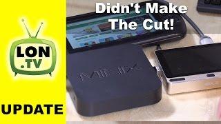 Tech Gear That Didn't Make Cut - GPD Q9 tablet , Gole 1, and Minix z83-4 Mini PCs