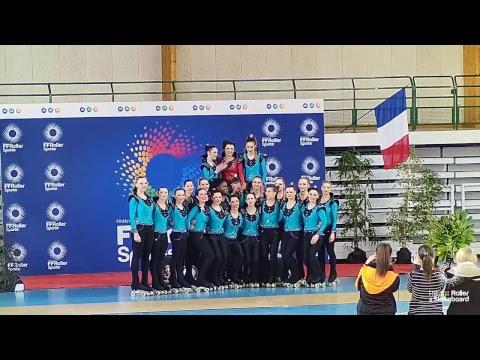 Championnat de France de Patinage de Groupe 2018 à Saintes (2/2)