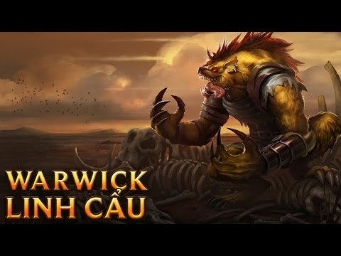 Warwick Linh Cẩu - Hyena Warwick - Skins lol