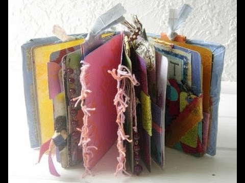 How to make 100 recycled art journal from cereal boxes youtube how to make 100 recycled art journal from cereal boxes ccuart Images