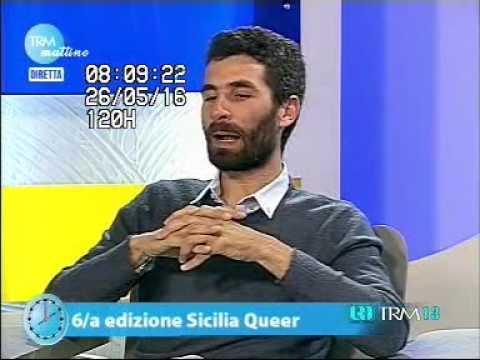 Giorgio Lisciandrello e Umberto Cantone a TRM mattino – Sicilia Queer 2016
