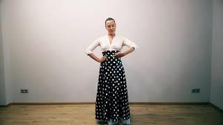 Основные положения рук в русском народном танце.