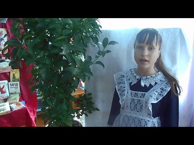 Изображение предпросмотра прочтения – АлинаГуменюк читает произведение «Мне нравится, что Вы больны не мной...» М.И.Цветаевой