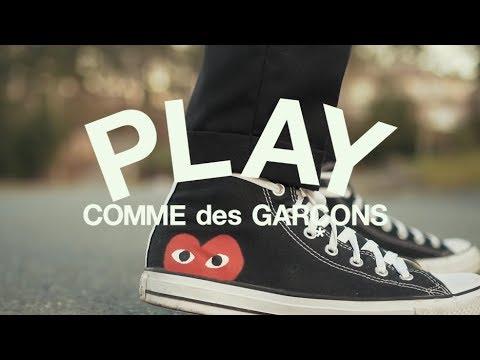 ba39c53fc2f Converse X Commes Des Garçons