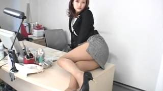 Mini Skirt Sexy Asian Girl 3 show big Boobs sexy at kitchen   YouTube
