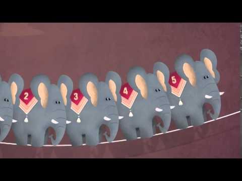 Youtube   Un elefante si dondolava - Canzoni per bambini di KidzInMind