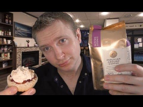 ASMR - Coffee & Tea Shop Roleplay
