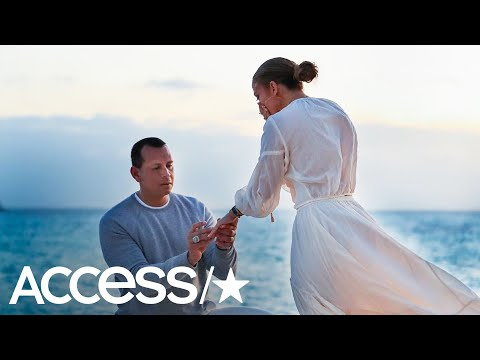 Jennifer Lopez & Alex Rodriguez Share Behind-The-Scenes Pics From His Romantic Beach Proposal Mp3