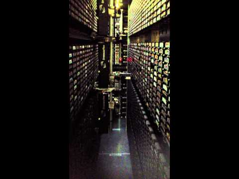 Inside A Magnetic Tape Archive