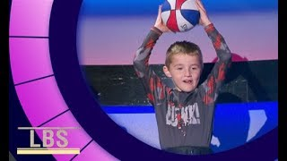 Meet Titus the viral trick shot sensation | Little Big Shots Aus Season 2 Episode 2