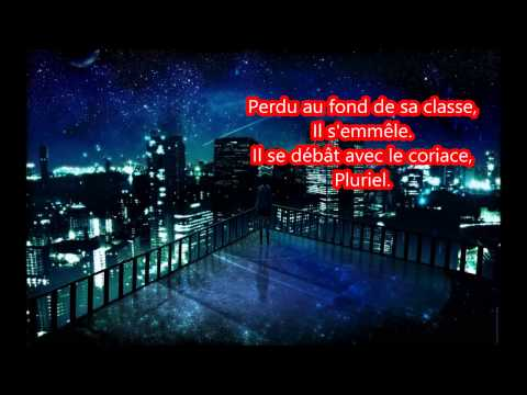 Nightcore Le portrait lyrics (calogero)