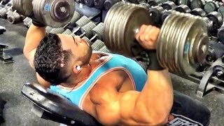 Chest And Shoulders Workout with Jonathan Irizarry