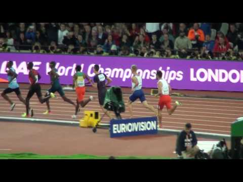 2017 IAAF World Champ Men's 800m Final