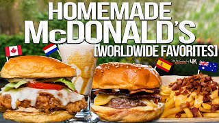 We Recreated ALL the Items on McDonald's International Menu! | SAM THE COOKING GUY 4K thumbnail