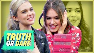 Legacies' Kaylee Bryant and Jenny Boyd Play Truth or Dare Jenga