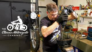 How To Hone A Cylinder - Classic Motorcycle Maintenance | The Classic Motorcycle Channel