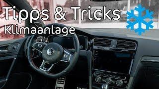 5 Tipps für die Klimaanlage im Auto   Tipps & Tricks