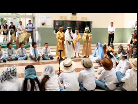 Quinto día de la Novena Municipal - Unidad Educativa Manabí