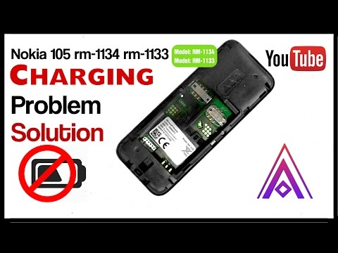 nokia 105 rm-1134 rm-1133 ! charging problem solution