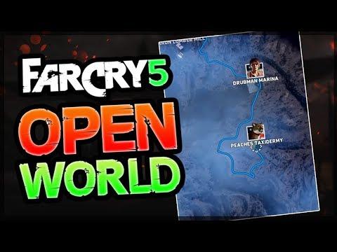 FAR CRY 5 GANZE KARTE - ALLE GEBIETE und open World enthüllt - Far Cry 5 Review deutsch soon