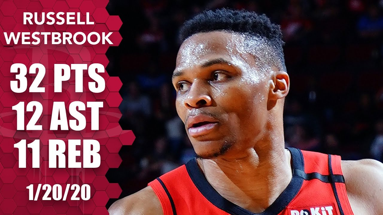 Russell Westbrook's triple-double vs. Thunder gives him one vs. every team | 2019-20 NBA Highlights