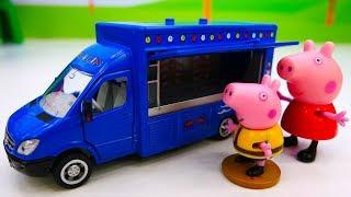 Развивающее видео для малышей про машинки помощники. Как чинят дорогу?
